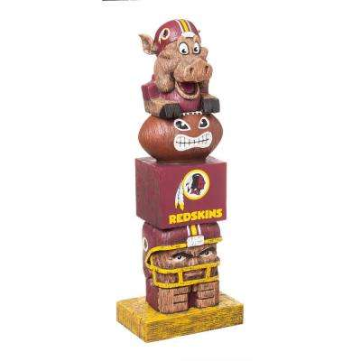 Washington Redskins Tiki Totem Garden Statue