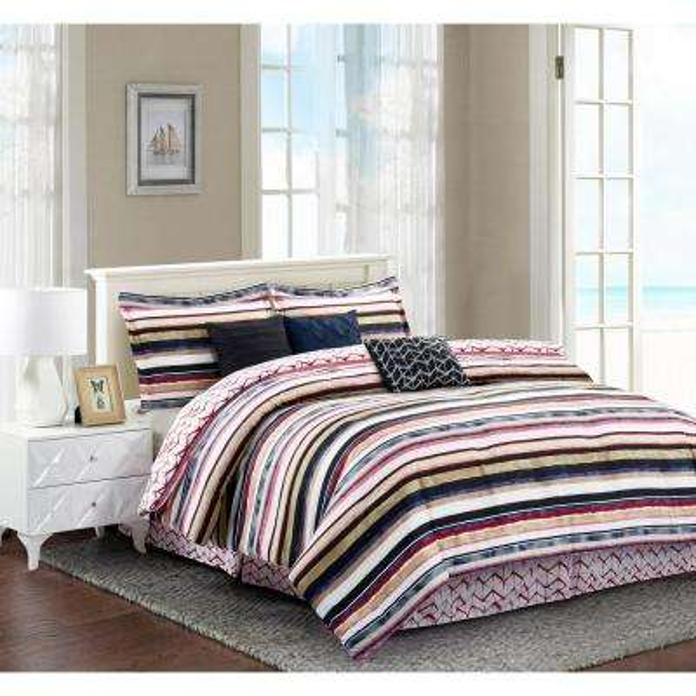 Celine 7-Piece Full Comforter Set