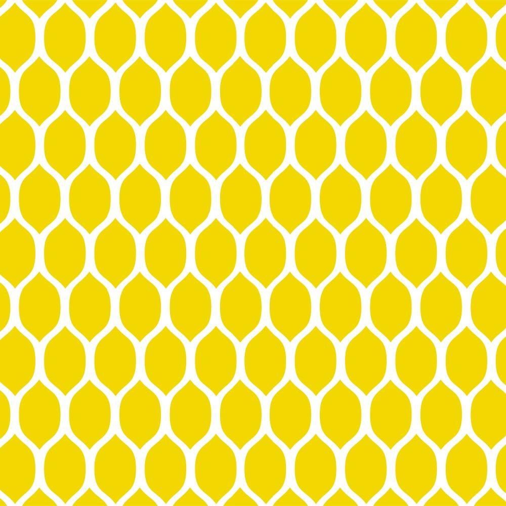 Stencil Ease 45 in. x 45 in. Lemonesque Wall Painting Stencil ...
