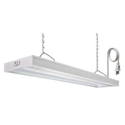 GRW 2 28 CSW CO M4 4 ft. 2-Light 28-Watt White T5 Fluorescent Grow Light