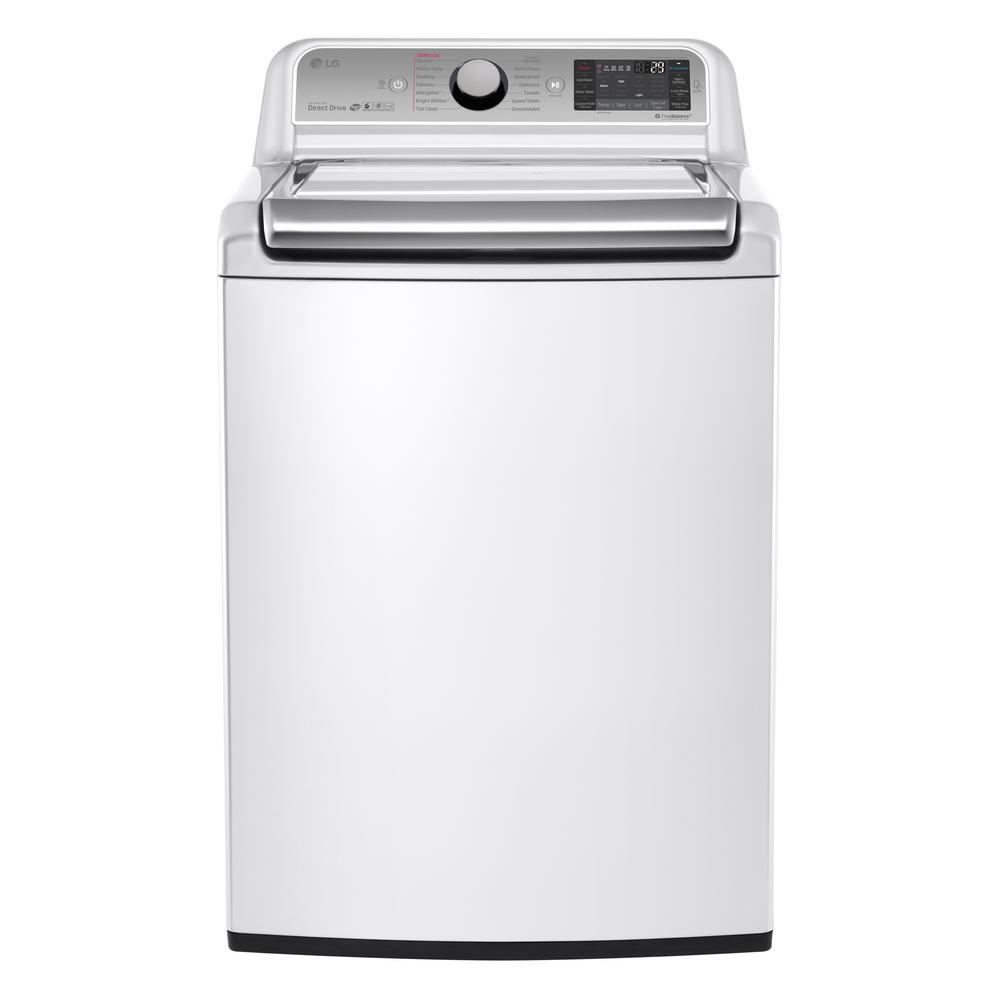 LG Electronics 5.2 Cu. Ft. High-Efficiency Top Load Washer