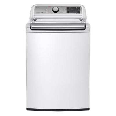 5.2 cu. ft. High-Efficiency Top Load Washer with Steam and Turbo Wash in White, ENERGY STAR