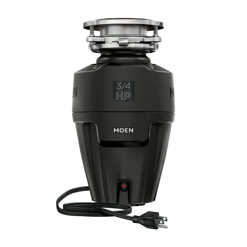 MOEN EX Series 3/4 HP Continuous Feed Space Saving Garbage Disposal