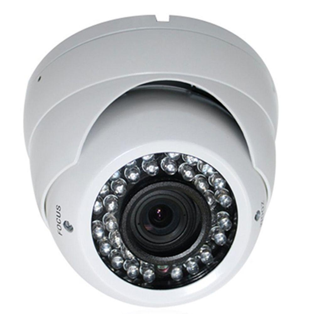 SPT Wired Indoor or Outdoor Night Vision Vandal Proof Dome Standard Surveillance Camera with 1000TVL Resolution