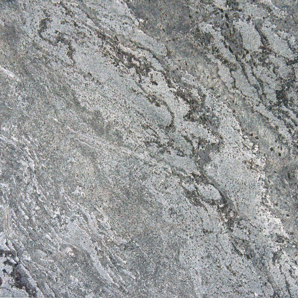 Ostrich Grey 16 in. x 16 in. Honed Quartzite Floor and