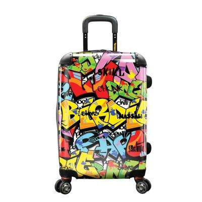 22 in. Tags Personalized Expandable Carry-On Spinner