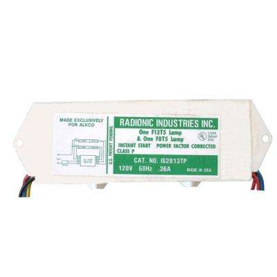 8 and 13-Watt T5 1-Lamp Normal Power Factor Magnetic Ballast