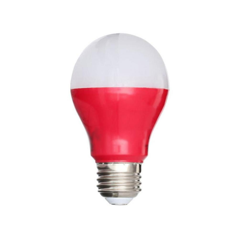 Ecosmart 25w Equivalent A19 Led Light Bulb Red Ecs Gp19 Red Ndm 120 Bl The Home Depot