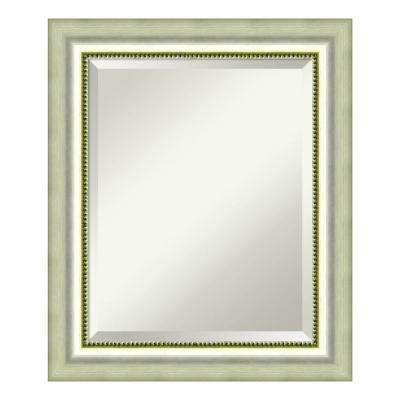 Medium Rectangle Burnished Silver Casual Mirror (24.88 in. H x 20.88 in. W)