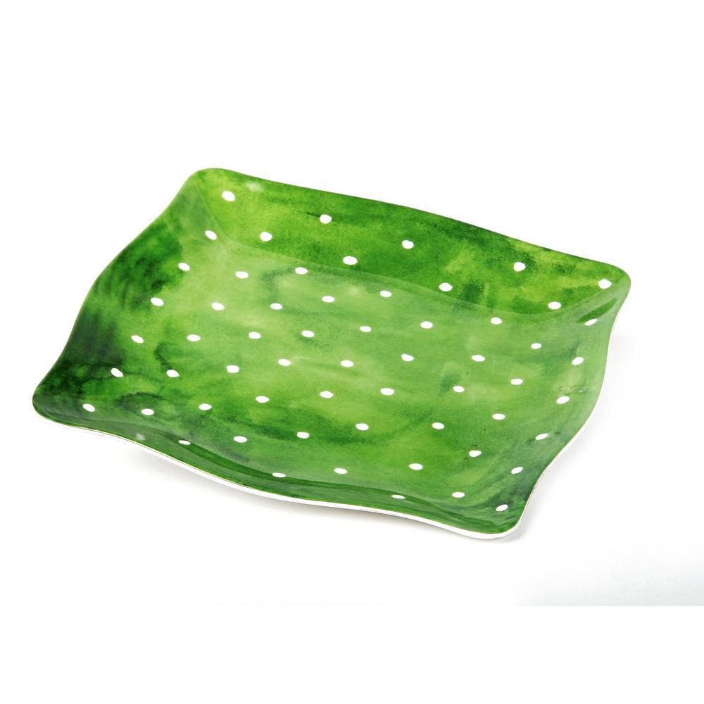 Pallini Sage Green Salad Plate (Set of 4)