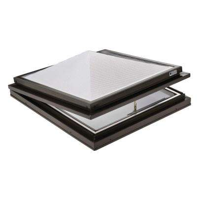 Prismatic 2 ft. x 2 ft. Venting Curb-Mounted Pyramid Skylight
