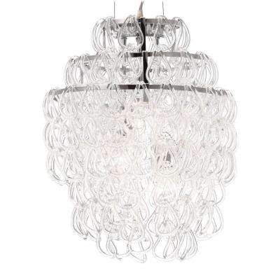 Cascade Chrome Ceiling Lamp