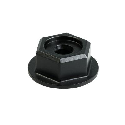 Outdoor Accents Black Powder-Coated Hex-Head Washer (24-Pack)