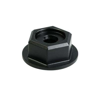 Outdoor Accents Black Powder-Coat Hex-Head Washer (8-Pack)
