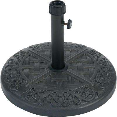 Brigantine Patio Umbrella Base in Iron Finish