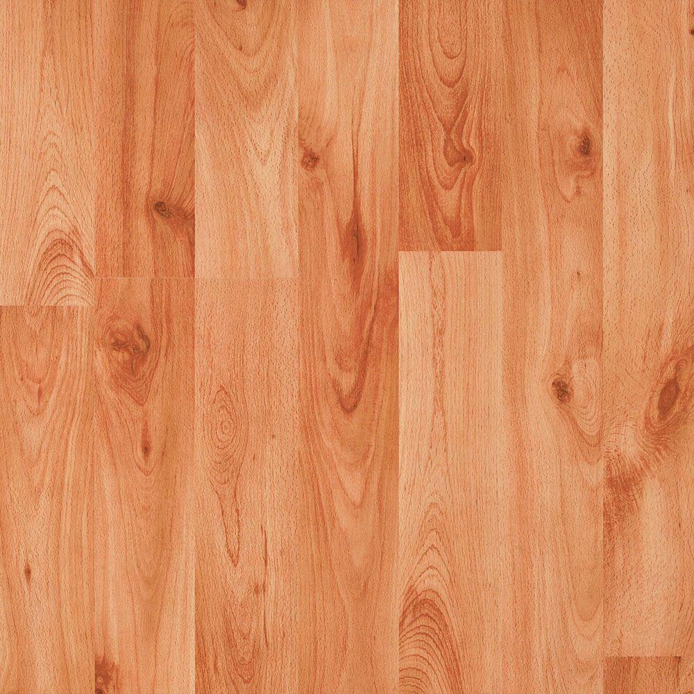 Bruce Beech 12 mm Thick x 7.559 in. Wide x 50.59 in. Length Laminate Flooring (743.68 sq. ft. / pallet)-DISCONTINUED