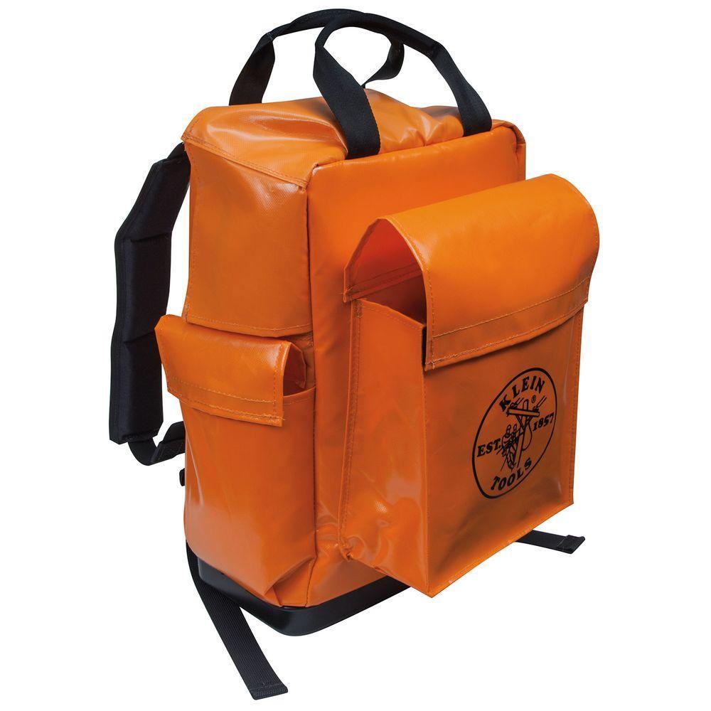 18 in. Lineman Backpack, Orange