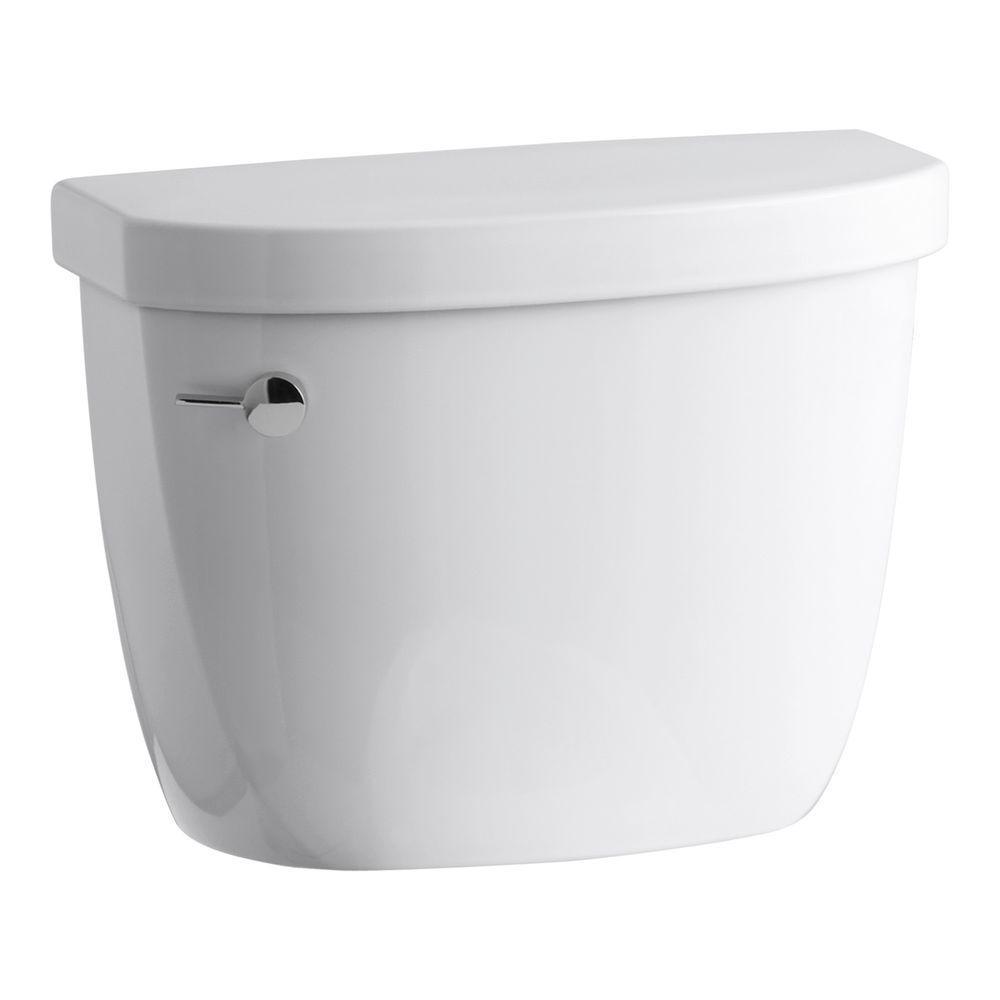 Superb Kohler Cimarron 1 28 Gpf Single Flush Toilet Tank Only With Aquapiston Flushing Technology In White Machost Co Dining Chair Design Ideas Machostcouk