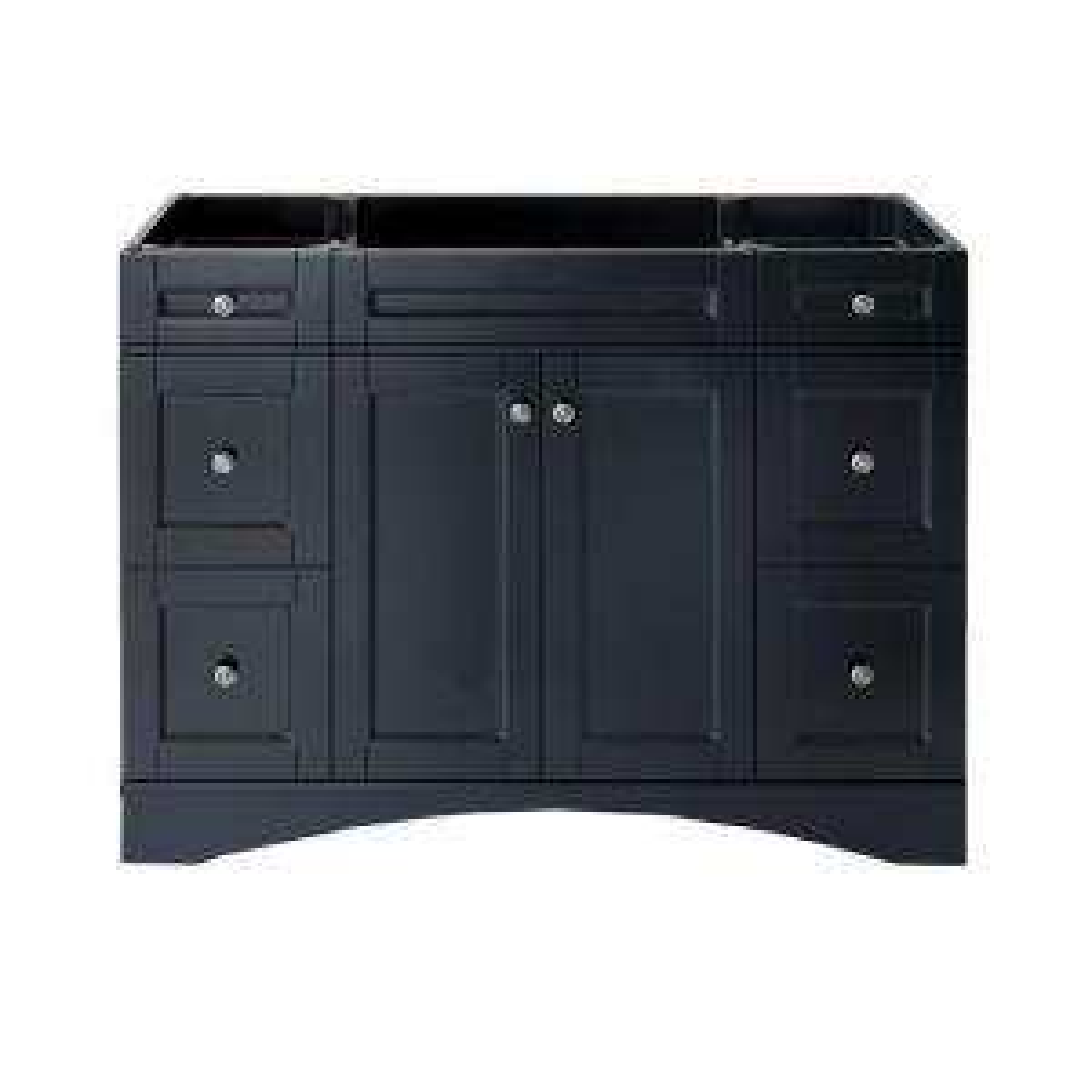 Virtu USA Elise 48 inch W x 22 inch D x 35.24 inch H Vanity Cabinet Only in Espresso by Virtu USA