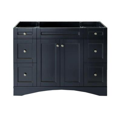 Elise 48 in. W Bath Vanity Cabinet Only in Espresso