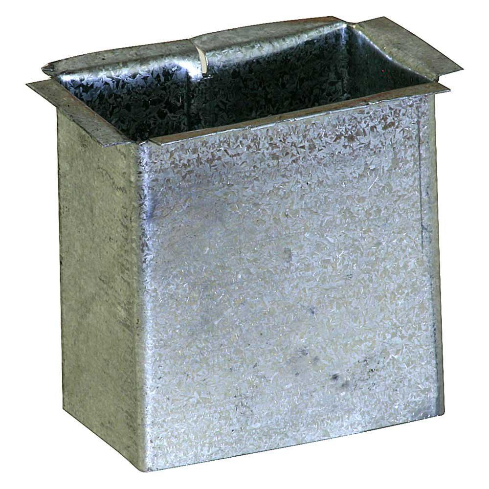 Aluminum 2-3 3//8 Round Gutter Outlets Gutter Supplies