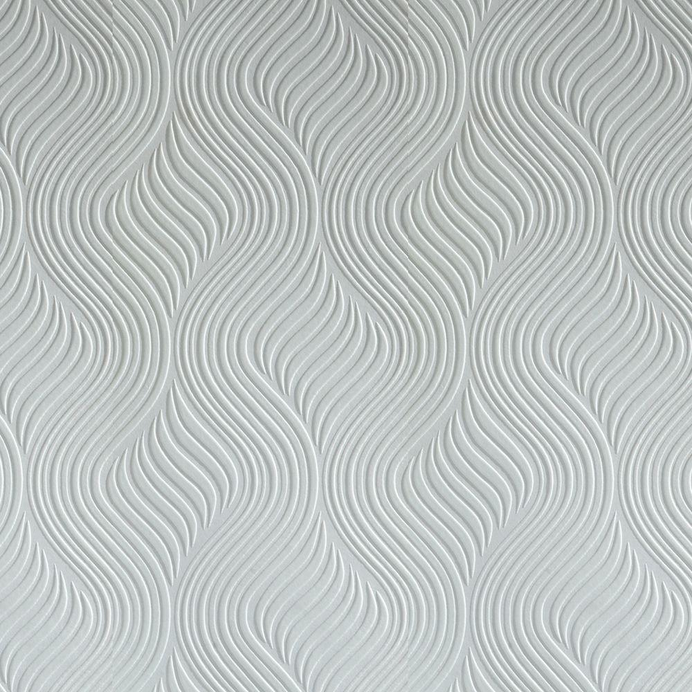 Graham Brown Pure Paintable White Wallpaper