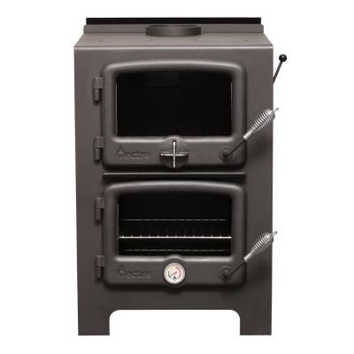 750 sq. ft. to 1,000 sq. ft. Wood Burning Stove With Cook Top and Oven and Interior Water Jacket