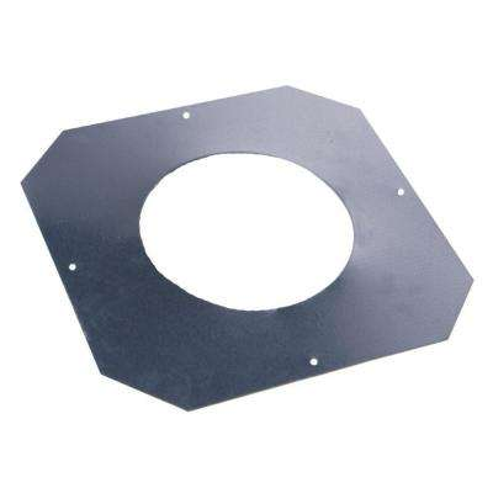 6 in. 24-Gauge Stainless Steel Ceiling Collar