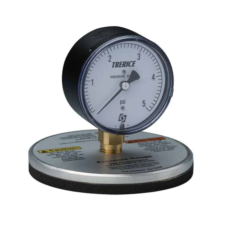 Static Pressure Blower : Intec static pressure gauge the home depot