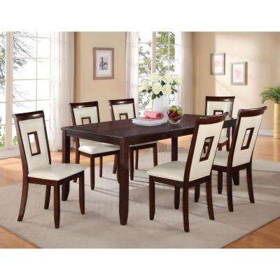 Oswell Cherry Water Resistant Dining Table