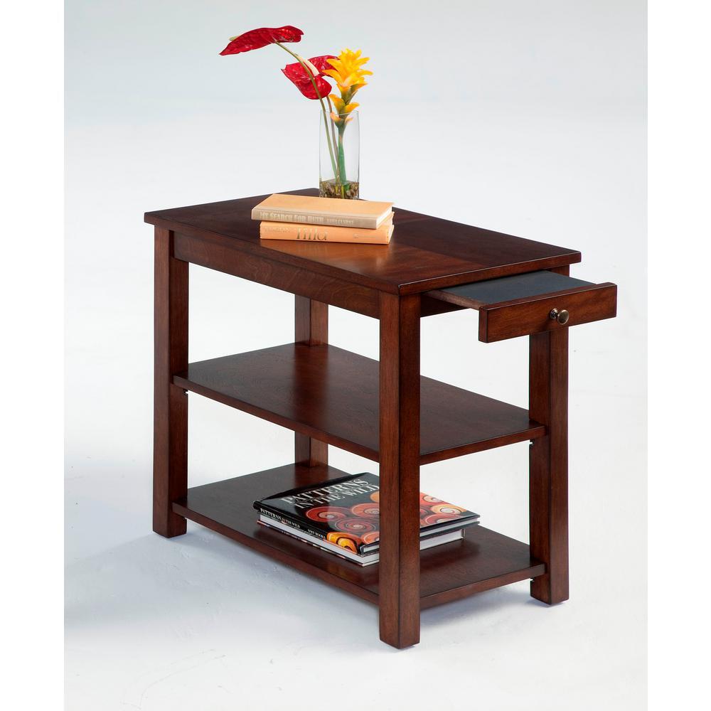 Chairsides Poplar Birch Veneer Chairside Table