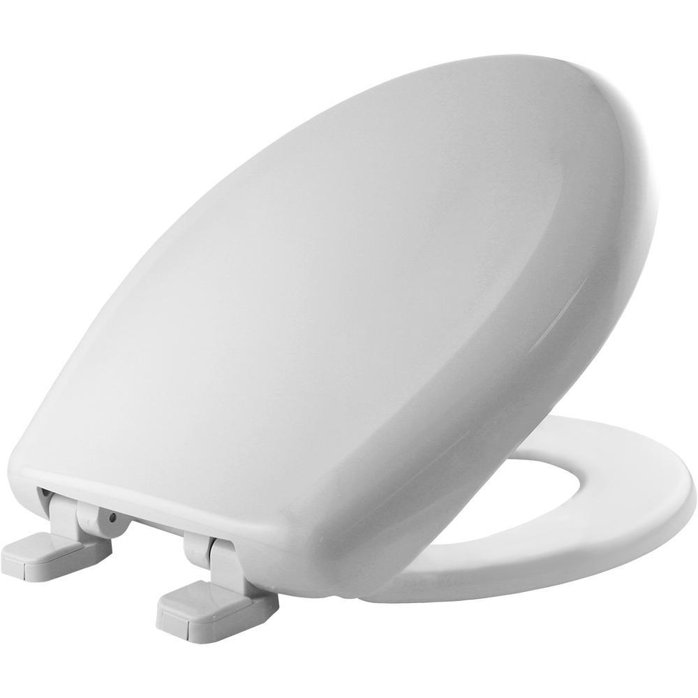 Bemis Round Closed Front Toilet Seat In White 200tca 000