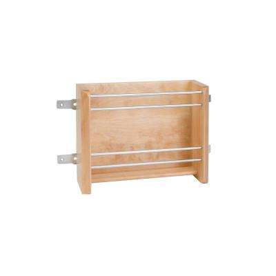 8 in. H x 10.13 in. W x 4 in. D Small Door Mount Foil Rack