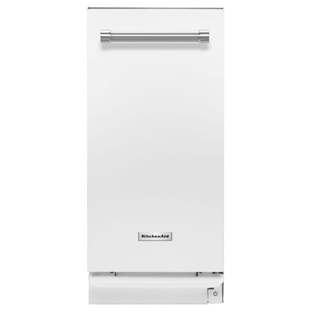 Kitchenaid 15 in built in trash compactor in white shop your way online shopping earn - Built in microwave home depot ...
