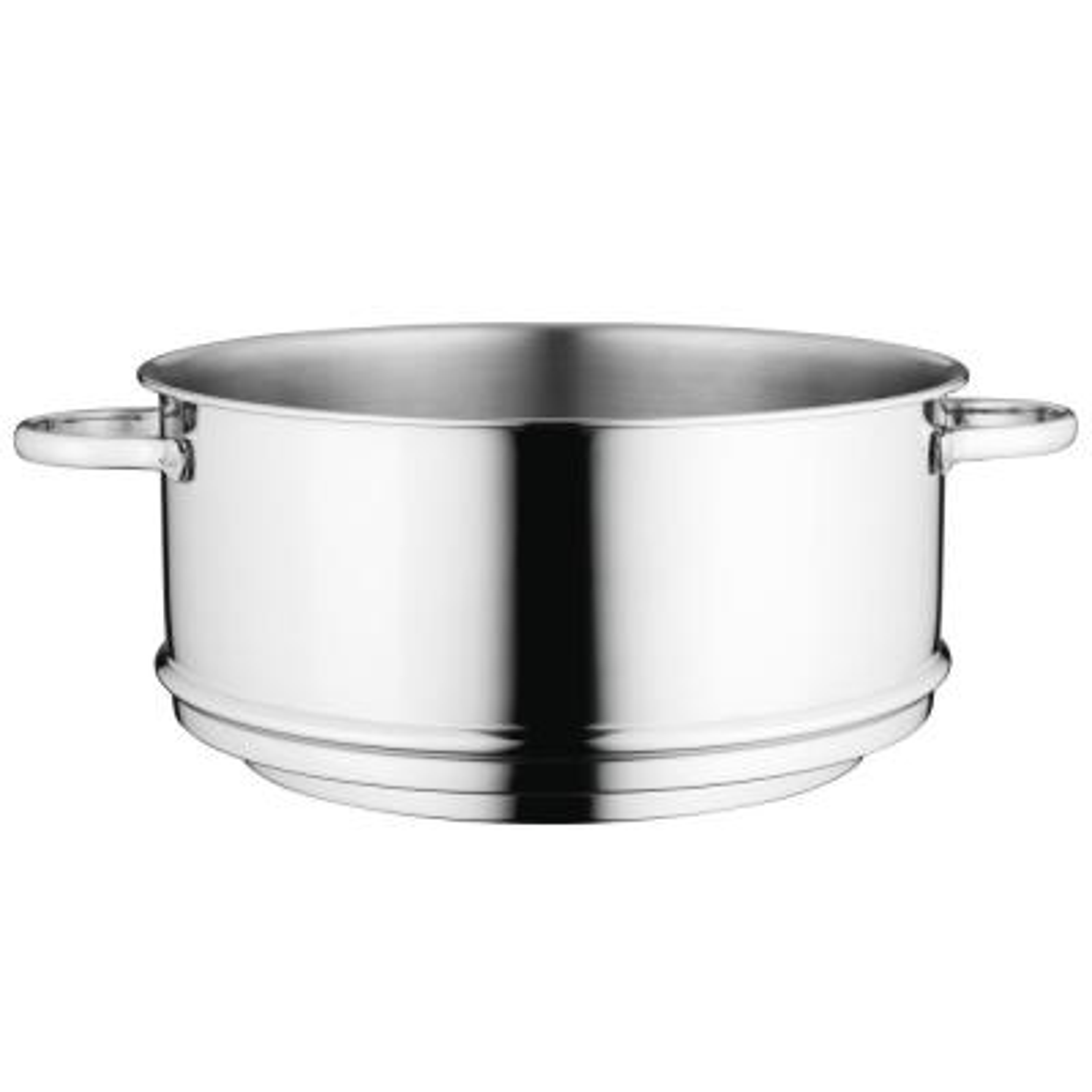 "Essentials Comfort Steamer Pan 10"" 18/10 Stainless Steel"
