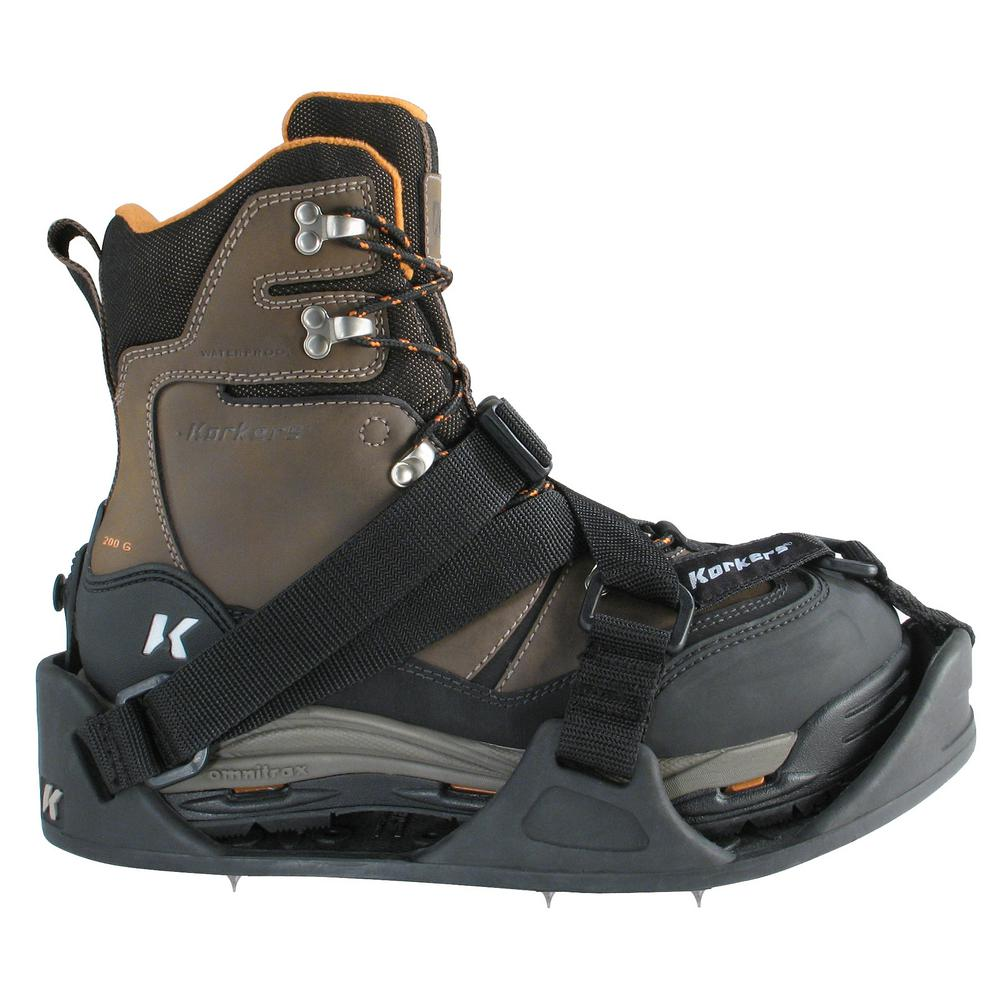 Korkers Unisex Apex Ice Stainless Steel Cleats