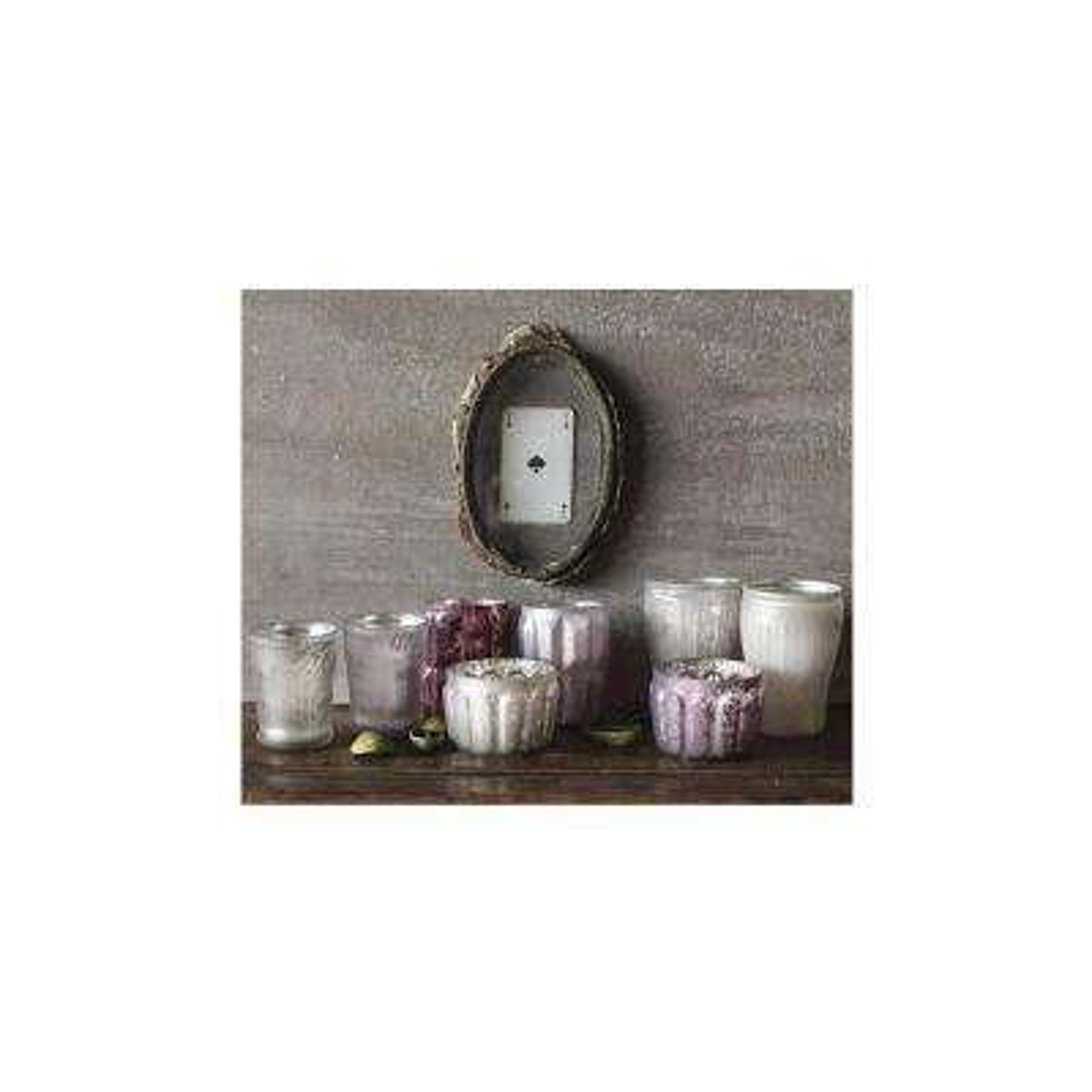 Kalis Multi-Colored Mercury Glass Tea Light Candle Holders (Set of 8)