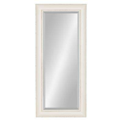 Macon Framed Wall Panel Mirror Other White