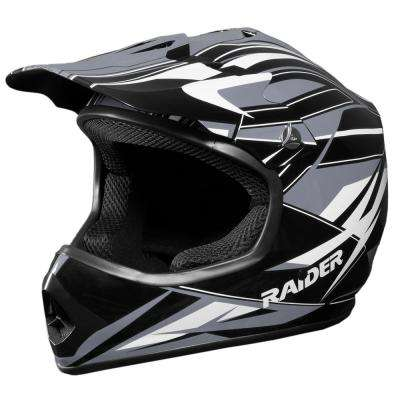 GX3 Y Large Black/Silver Youth MX