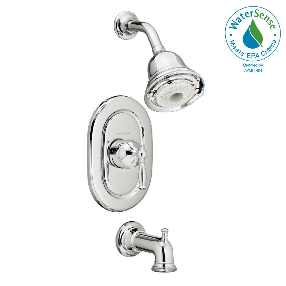 Quentin FloWise Pressure Balance 1-Handle Tub and Shower Faucet Trim Kit