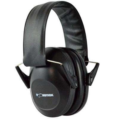 Ear Muff Hearing Protection in Black
