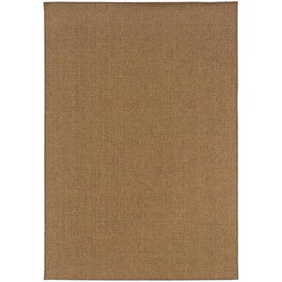 Sanibel Dark Natural 5 ft. x 8 ft. Area Rug
