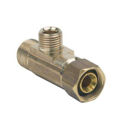 3/8 in. x 3/8 in. x 1/4 in. Compression x Compression T-Fitting