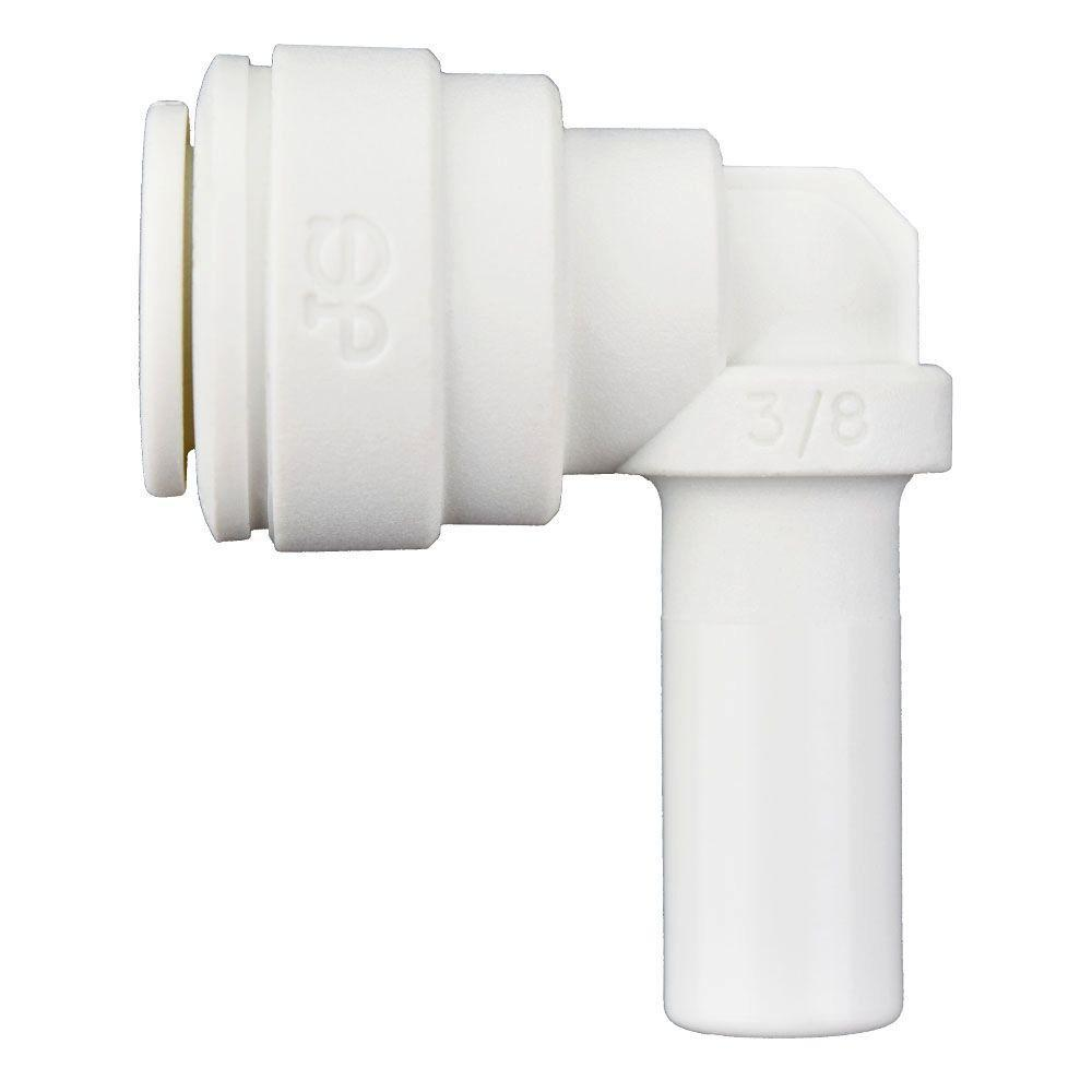 3/8 in. x 3/8 in. Push to Connect Polyproplyene 90-Degree Elbow