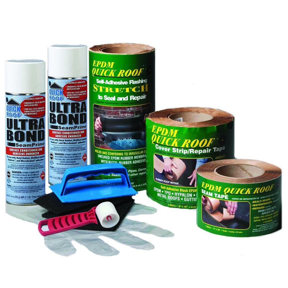 Quick Roof Single Ply Roof Maintenance And Repair Kit Epdm