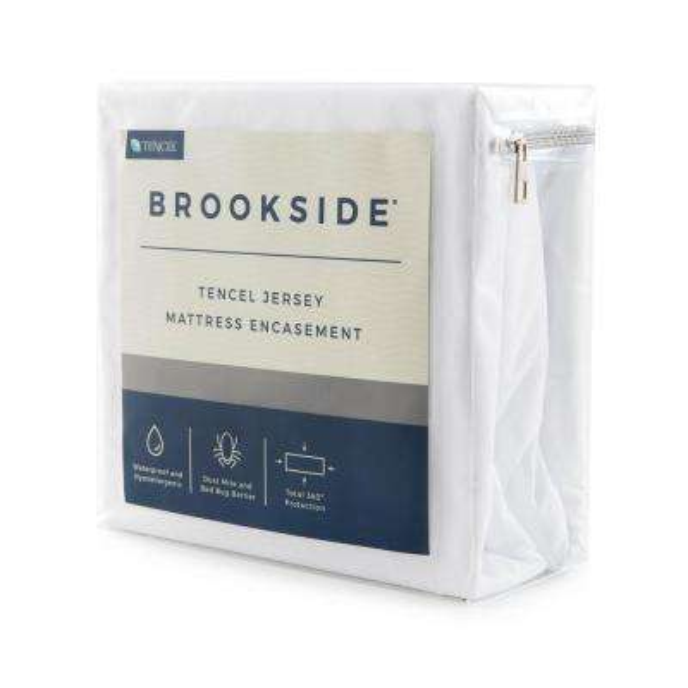 Tencel Jersey Polyester Fabric Encasement King Mattress Protector