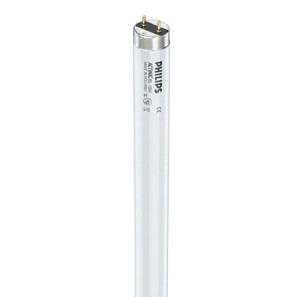 20 in. T5 8-Watt Actinic BL Linear Fluorescent Light Bulb (250-Pack)