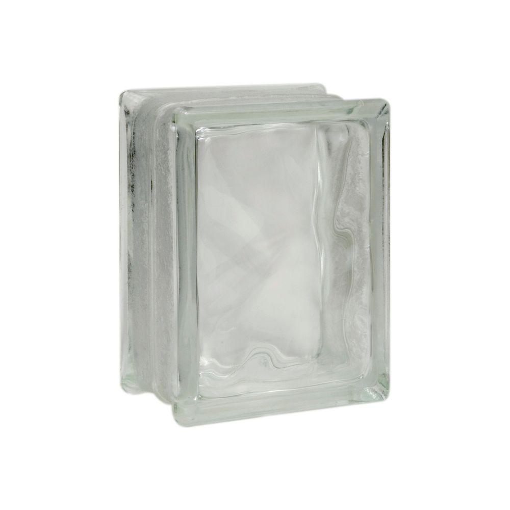 Pittsburgh Corning Decora 7-3/4 in. x 5-3/4 in. x 3-1/8 in. Thinline Glass Blocks (12-Pack)