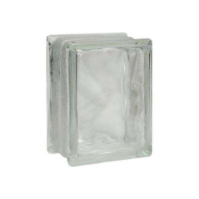 Decora 7-3/4 in. x 5-3/4 in. x 3-1/8 in. Thinline Glass Blocks (12-Pack)