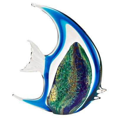 Murano style Artistic Glass Gorgeous Angel Fish